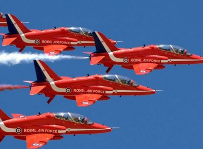 Place to stop - scampton airshow - red arrows